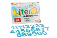 5 cm Magnetyczne Cyfry - kolor niebieski