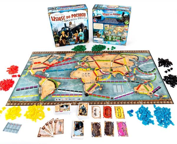 Wsiąść do Pociągu: Dookoła Świata