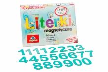 5 cm Magnetyczne Cyfry - kolor turkusowy
