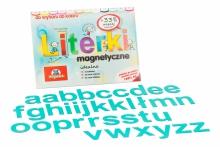 Alfabet Magnetyczny 5 cm - małe litery w kolorze turkusowym