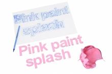 Alfabet Magnetyczny 5 cm - małe litery w kolorze różowym